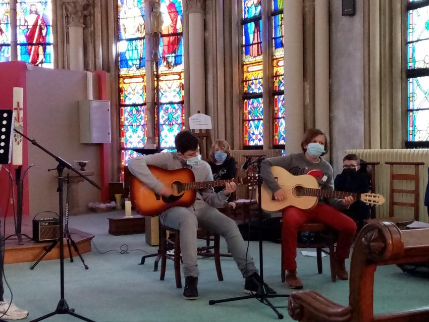 Concert de Noël au collège